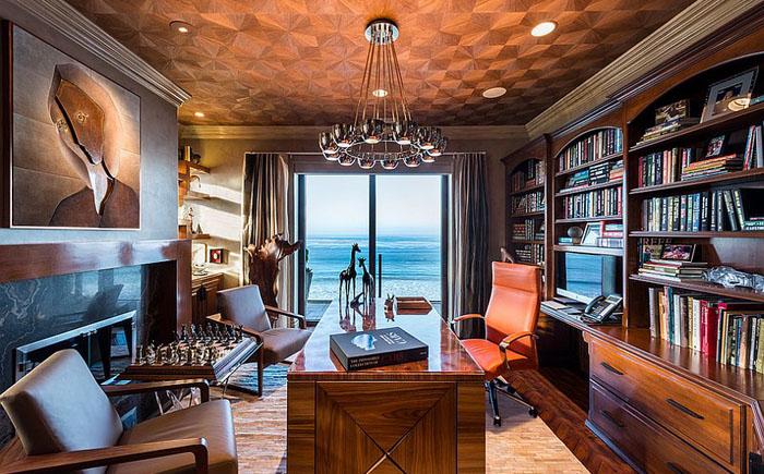 Интерьер домашнего офиса от dRichards Interiors