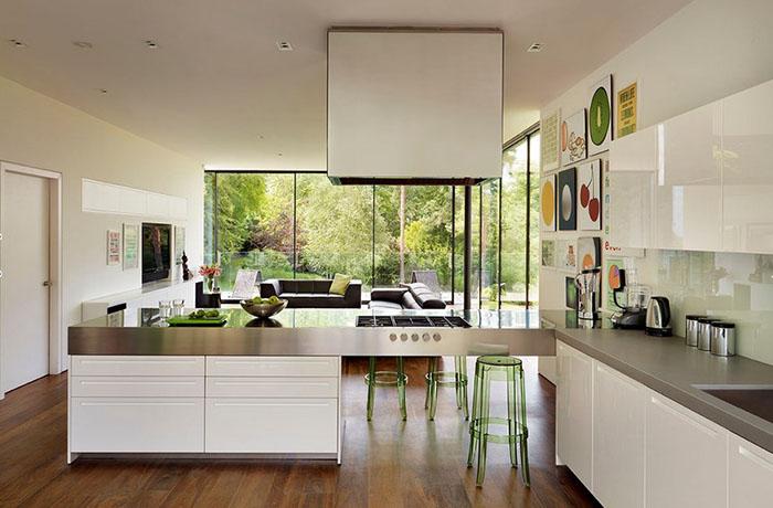 Интерьер кухни от Gregory Phillips Architects