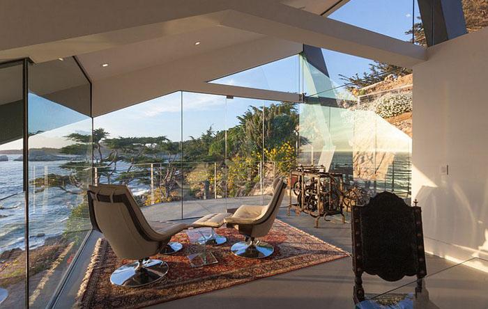 Терраса с видом на побережье