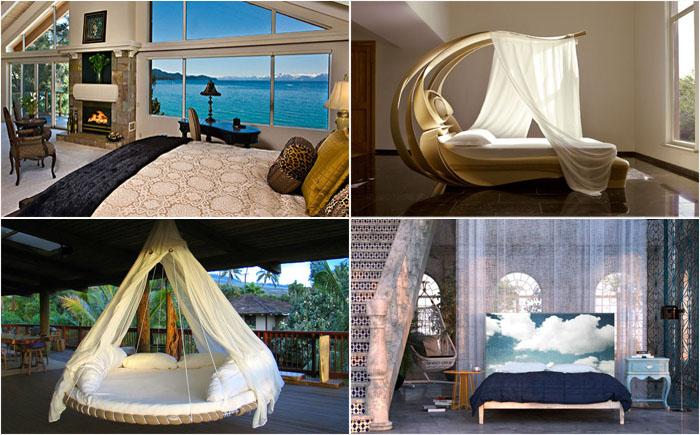 Идеальные спальни для полноценного отдыха: три главных секрета