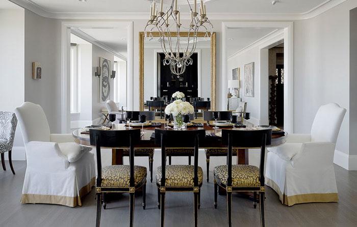 Интерьер столовой от Candace Cavanaugh Interiors