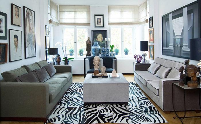 Интерьер гостиной от Fine Rooms Design Konzepte
