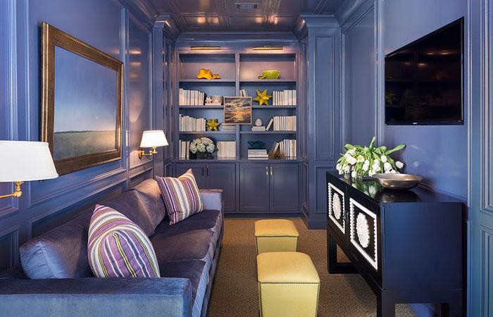 Интерьер гостиной от Tobi Fairley Interior Design