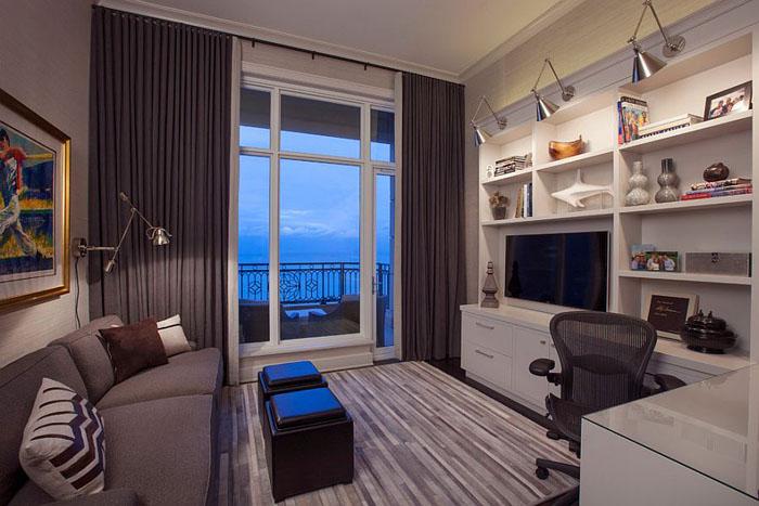 Гостиная и домашний офис от Michael Abrams Limited