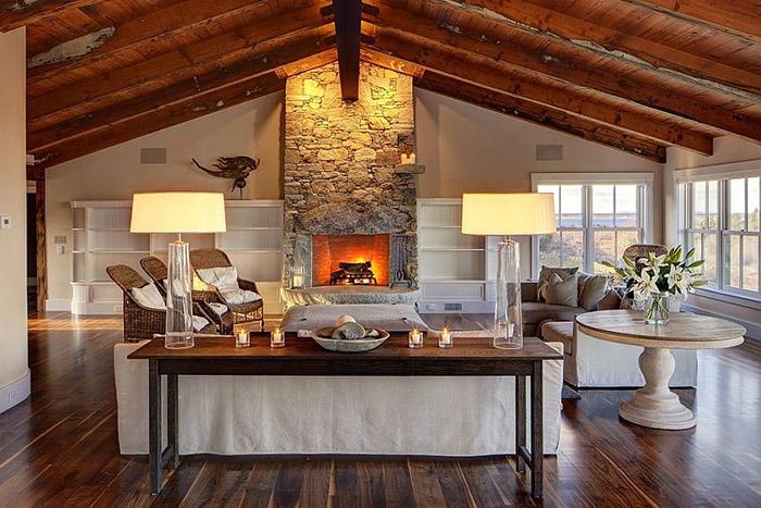 Интерьер гостиной от ullivan + Associates Architects