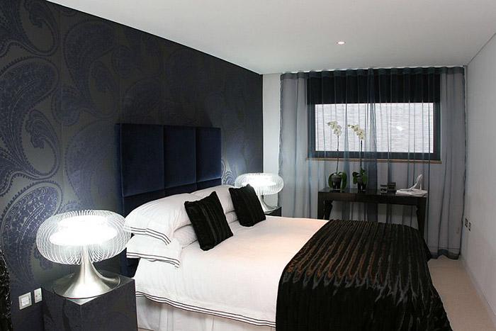 Интерьер спальни от Sacha Jacq Interiors