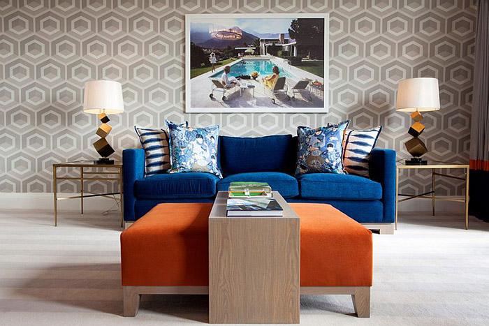 Интерьер гостиной от Malcolm Duffin Interior Design