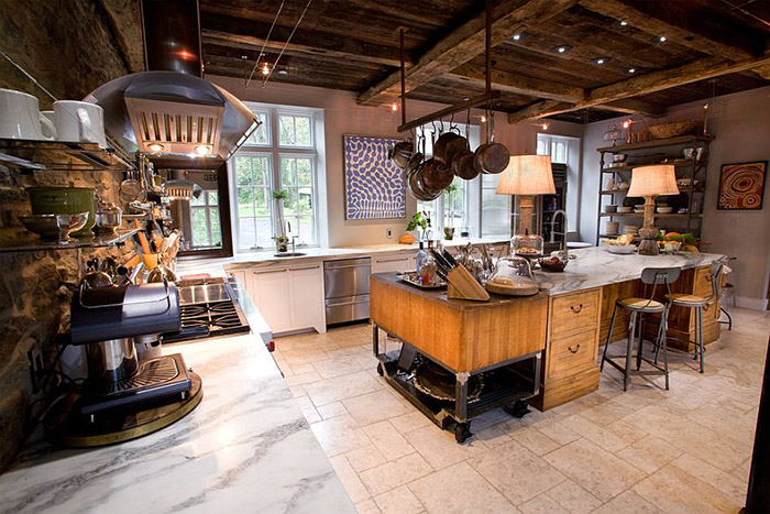 Кухня в индустриальном стиле от Jarrett Design