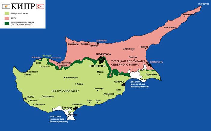 Карты спорных територий
