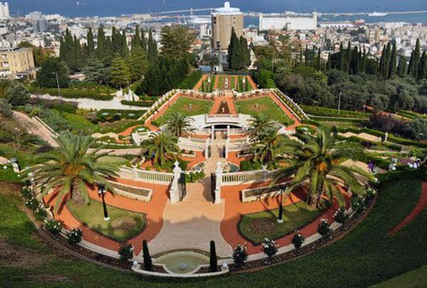 Сады Бахаи, Израиль