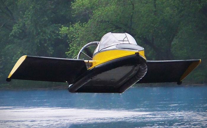 Летающая лодка на воздушной подушке