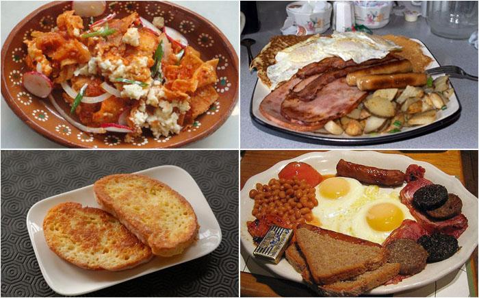 25 традиционных завтраков со всего мира