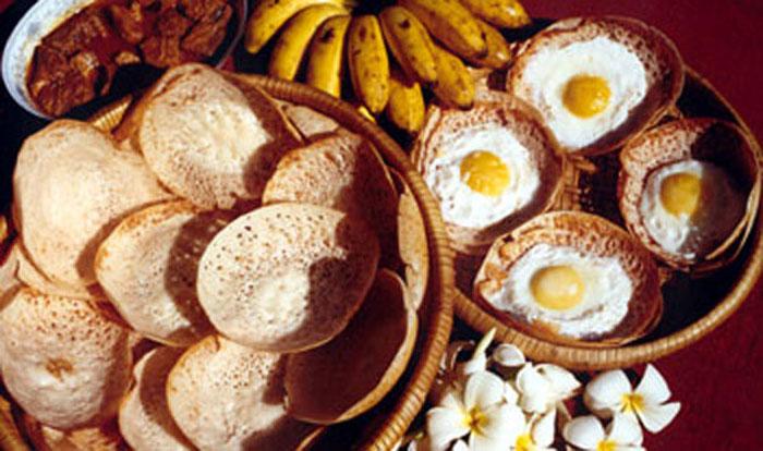 Шри-Ланкийский завтрак