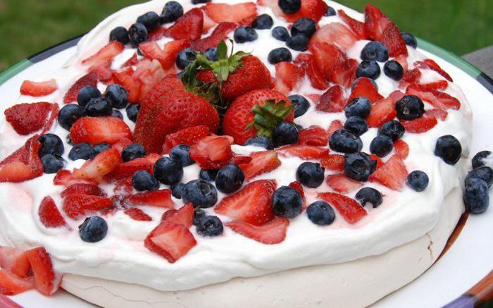 Торт Павлова - Австралия