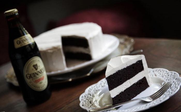 Торт на пиве
