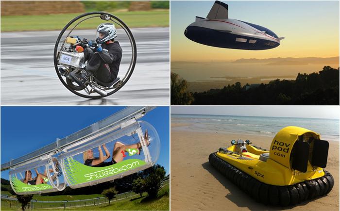 Самые странные транспортные средства в мире
