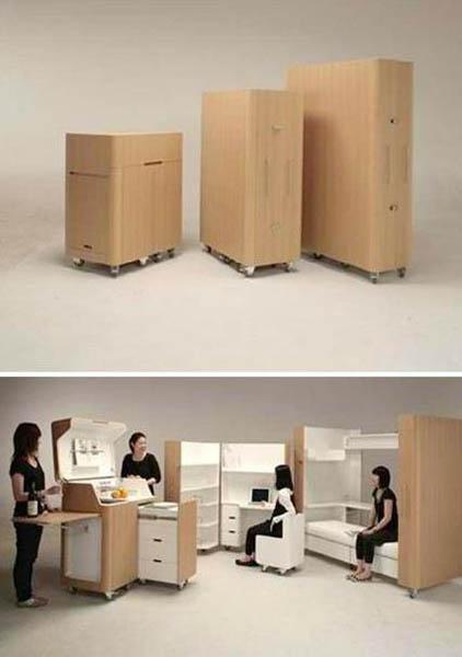 Раскладная мебель для студентов