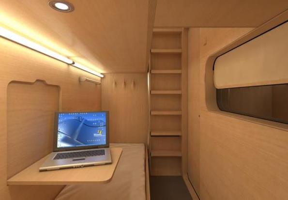 Коробка для сна: спальня для общественных мест