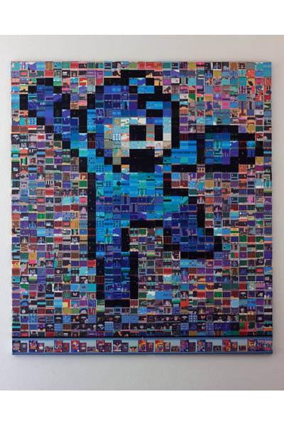 Мозаика Mega Man