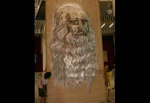 Изображение Леонардо да Винчи