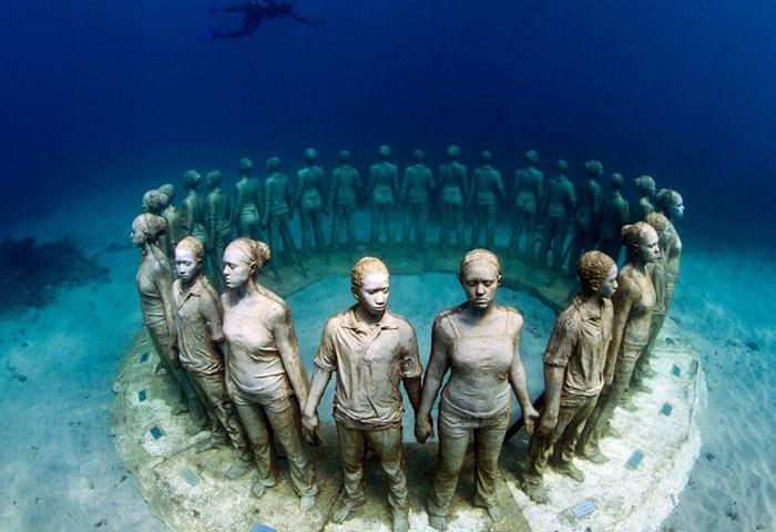Подводный парк скульптур, Гренада