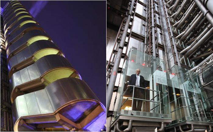 Лифт в здании Ллойда