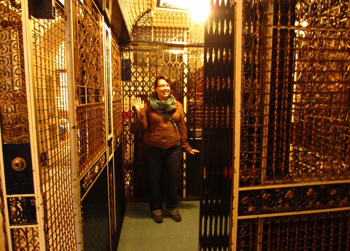 Клеточный лифт в Морском музее