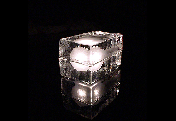 Лампа-кирпич
