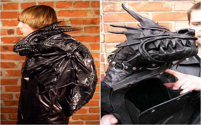 Купить рюкзак дракон кожанный рюкзак парашют