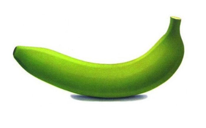 Зелёные бананы