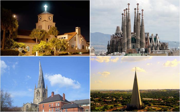 10 самых необычных церковных шпилей в