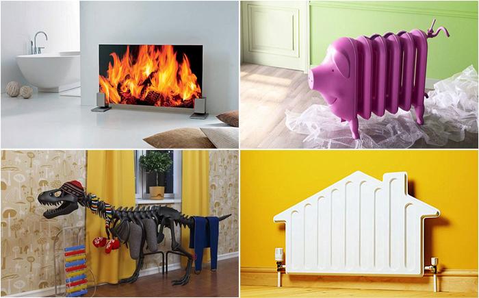 Тепло бывает разным:  10 самых невероятных радиаторов
