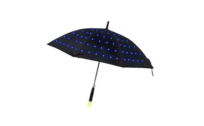 Зонтик со светодиодами