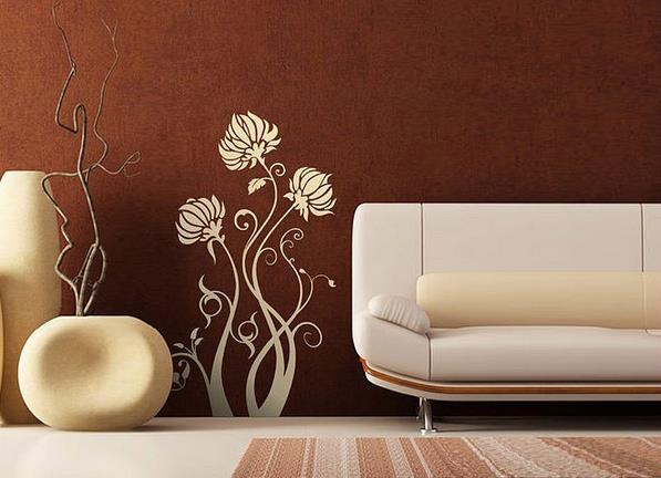 Одна цветовая гамма с мягкой мебелью