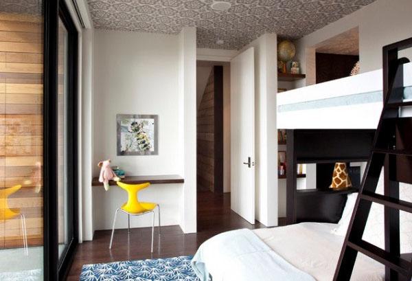 Интерьер спальни от SB Architects