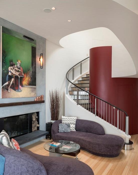 Интерьер от Hughes Studio Architects