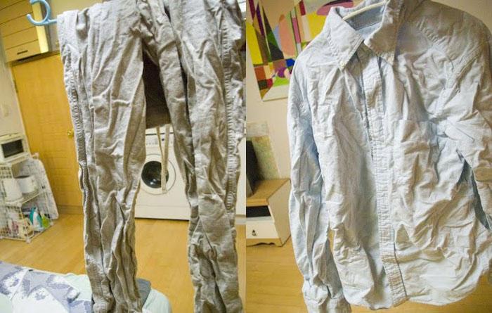 Как избавиться от складок на одежде