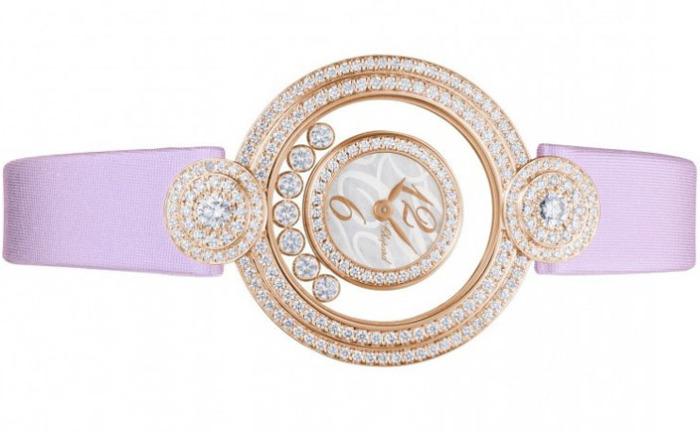 Швейцарские часы Happy Diamonds от Chopard