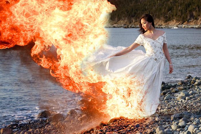 5 способов утилизации свадебного платья после развода