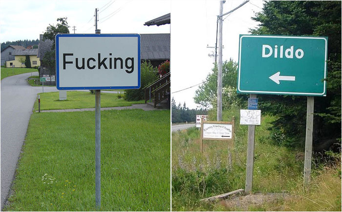 10 населённых пунктов с самыми странными и смешными названиями