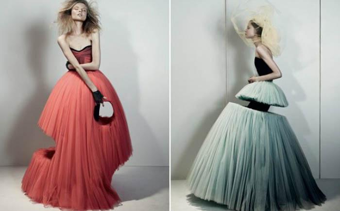 Платье от кутюрье с пилой