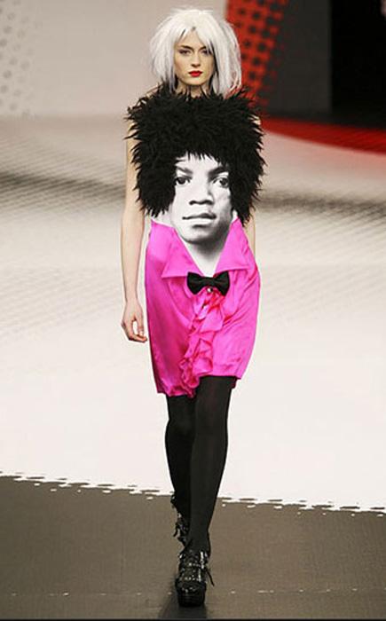 Платье «Майкл Джексон»