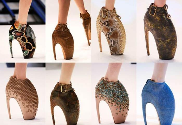 Туфли на шпильке 25 см
