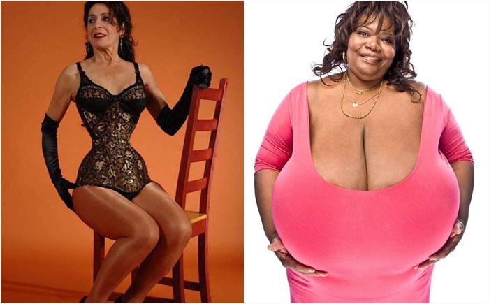 10 самых необычных людей, поражающих своей внешностью