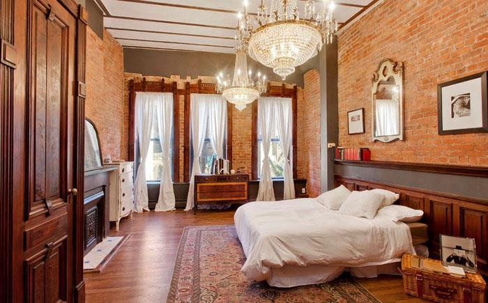 Интерьер спальни в эклектичном стиле от GooseNest Interior Design