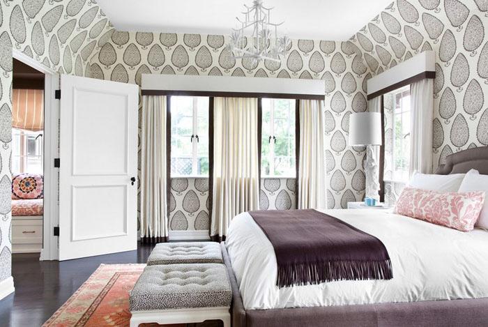 Интерьер спальни от Burnham Design