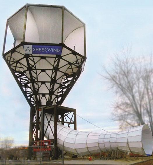 Вітрогенератор від Sheerwind