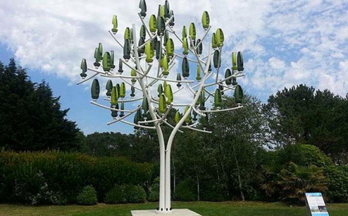 Дерево-вітрогенератор