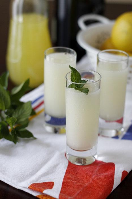 Лимонный сорбет и шампанское