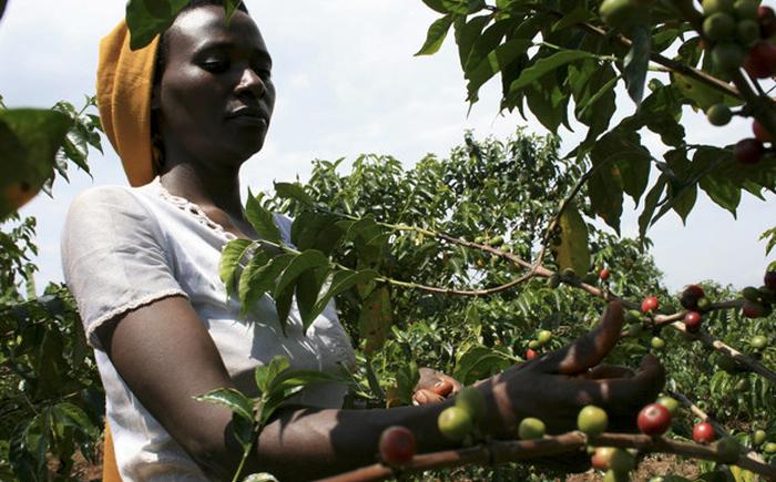 Женщина из Руанды